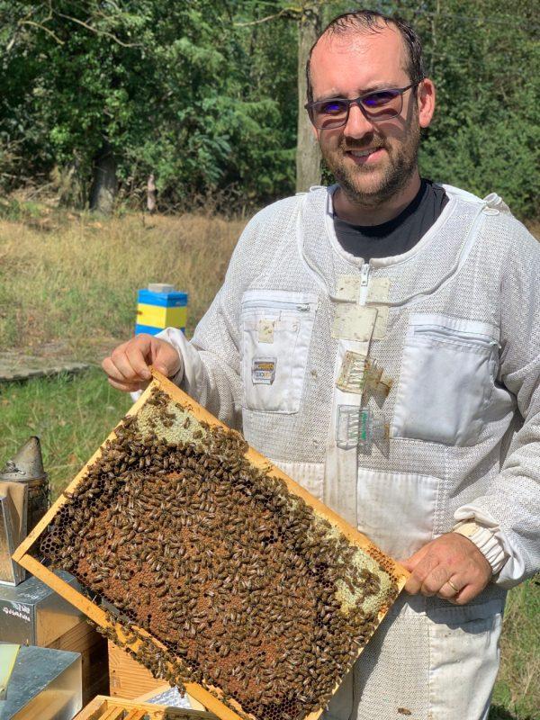 Alexandre Valgrès, apiculteur professionnel Yvelines